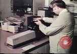 Image of Federal Bureau of Investigation fingerprint analysis Washington DC USA, 1977, second 47 stock footage video 65675063776