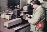 Image of Federal Bureau of Investigation fingerprint analysis Washington DC USA, 1977, second 48 stock footage video 65675063776