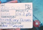 Image of United States soldiers Saigon Vietnam, 1969, second 5 stock footage video 65675063782