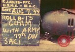 Image of 77th Infantry Division Guam Mariana Islands, 1944, second 1 stock footage video 65675063807