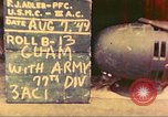 Image of 77th Infantry Division Guam Mariana Islands, 1944, second 3 stock footage video 65675063807