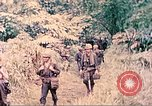 Image of US 5th Marines invading Japanese-held areas of Papua New Guinea Talasea New Britain Papua New Guinea, 1944, second 60 stock footage video 65675063811
