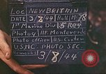 Image of US 5th Marines occupy Bitokara Mission compound Talasea New Britain Papua New Guinea, 1944, second 9 stock footage video 65675063813