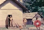 Image of US 5th Marines occupy Bitokara Mission compound Talasea New Britain Papua New Guinea, 1944, second 27 stock footage video 65675063813