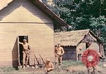 Image of US 5th Marines occupy Bitokara Mission compound Talasea New Britain Papua New Guinea, 1944, second 29 stock footage video 65675063813