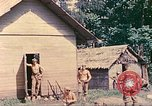 Image of US 5th Marines occupy Bitokara Mission compound Talasea New Britain Papua New Guinea, 1944, second 31 stock footage video 65675063813