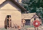 Image of US 5th Marines occupy Bitokara Mission compound Talasea New Britain Papua New Guinea, 1944, second 32 stock footage video 65675063813