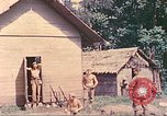 Image of US 5th Marines occupy Bitokara Mission compound Talasea New Britain Papua New Guinea, 1944, second 36 stock footage video 65675063813