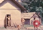 Image of US 5th Marines occupy Bitokara Mission compound Talasea New Britain Papua New Guinea, 1944, second 37 stock footage video 65675063813