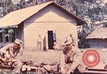 Image of US 5th Marines occupy Bitokara Mission compound Talasea New Britain Papua New Guinea, 1944, second 39 stock footage video 65675063813