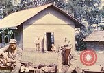 Image of US 5th Marines occupy Bitokara Mission compound Talasea New Britain Papua New Guinea, 1944, second 43 stock footage video 65675063813