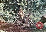 Image of US 5th Marines use winch to pull armored vehicle uphill Talasea New Britain Papua New Guinea, 1944, second 41 stock footage video 65675063814