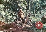 Image of US 5th Marines use winch to pull armored vehicle uphill Talasea New Britain Papua New Guinea, 1944, second 42 stock footage video 65675063814