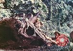 Image of US 5th Marines use winch to pull armored vehicle uphill Talasea New Britain Papua New Guinea, 1944, second 54 stock footage video 65675063814