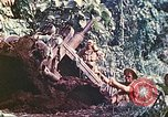 Image of US 5th Marines use winch to pull armored vehicle uphill Talasea New Britain Papua New Guinea, 1944, second 58 stock footage video 65675063814