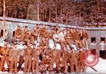 Image of Repatriated American prisoners of war pose for pictures Germany, 1945, second 11 stock footage video 65675063832