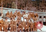 Image of Repatriated American prisoners of war pose for pictures Germany, 1945, second 13 stock footage video 65675063832