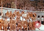 Image of Repatriated American prisoners of war pose for pictures Germany, 1945, second 15 stock footage video 65675063832