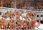 Image of Repatriated American prisoners of war pose for pictures Germany, 1945, second 16 stock footage video 65675063832