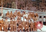 Image of Repatriated American prisoners of war pose for pictures Germany, 1945, second 21 stock footage video 65675063832