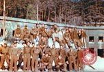 Image of Repatriated American prisoners of war pose for pictures Germany, 1945, second 22 stock footage video 65675063832