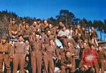 Image of Repatriated American prisoners of war pose for pictures Germany, 1945, second 28 stock footage video 65675063832
