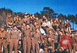 Image of Repatriated American prisoners of war pose for pictures Germany, 1945, second 31 stock footage video 65675063832
