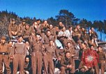 Image of Repatriated American prisoners of war pose for pictures Germany, 1945, second 32 stock footage video 65675063832