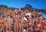 Image of Repatriated American prisoners of war pose for pictures Germany, 1945, second 33 stock footage video 65675063832