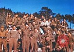 Image of Repatriated American prisoners of war pose for pictures Germany, 1945, second 34 stock footage video 65675063832