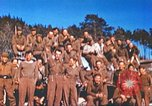 Image of Repatriated American prisoners of war pose for pictures Germany, 1945, second 36 stock footage video 65675063832