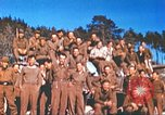Image of Repatriated American prisoners of war pose for pictures Germany, 1945, second 38 stock footage video 65675063832