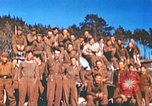 Image of Repatriated American prisoners of war pose for pictures Germany, 1945, second 39 stock footage video 65675063832