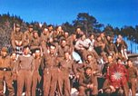 Image of Repatriated American prisoners of war pose for pictures Germany, 1945, second 40 stock footage video 65675063832