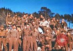 Image of Repatriated American prisoners of war pose for pictures Germany, 1945, second 41 stock footage video 65675063832