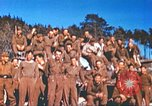 Image of Repatriated American prisoners of war pose for pictures Germany, 1945, second 42 stock footage video 65675063832