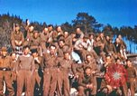 Image of Repatriated American prisoners of war pose for pictures Germany, 1945, second 43 stock footage video 65675063832