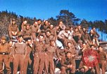 Image of Repatriated American prisoners of war pose for pictures Germany, 1945, second 44 stock footage video 65675063832