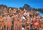 Image of Repatriated American prisoners of war pose for pictures Germany, 1945, second 45 stock footage video 65675063832