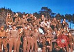 Image of Repatriated American prisoners of war pose for pictures Germany, 1945, second 46 stock footage video 65675063832