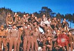 Image of Repatriated American prisoners of war pose for pictures Germany, 1945, second 47 stock footage video 65675063832