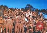 Image of Repatriated American prisoners of war pose for pictures Germany, 1945, second 48 stock footage video 65675063832