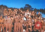 Image of Repatriated American prisoners of war pose for pictures Germany, 1945, second 49 stock footage video 65675063832