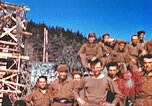 Image of Repatriated American prisoners of war pose for pictures Germany, 1945, second 52 stock footage video 65675063832