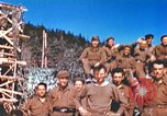 Image of Repatriated American prisoners of war pose for pictures Germany, 1945, second 53 stock footage video 65675063832