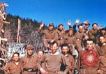 Image of Repatriated American prisoners of war pose for pictures Germany, 1945, second 55 stock footage video 65675063832