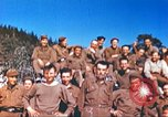 Image of Repatriated American prisoners of war pose for pictures Germany, 1945, second 59 stock footage video 65675063832