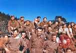 Image of Repatriated American prisoners of war pose for pictures Germany, 1945, second 61 stock footage video 65675063832