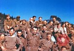 Image of Repatriated American prisoners of war pose for pictures Germany, 1945, second 62 stock footage video 65675063832