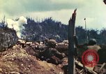 Image of U.S. Army 710th Tank Battalion Peleliu Palau Islands, 1944, second 12 stock footage video 65675063842